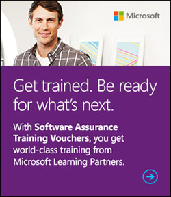 Microsoft Software Assurance training vouchers